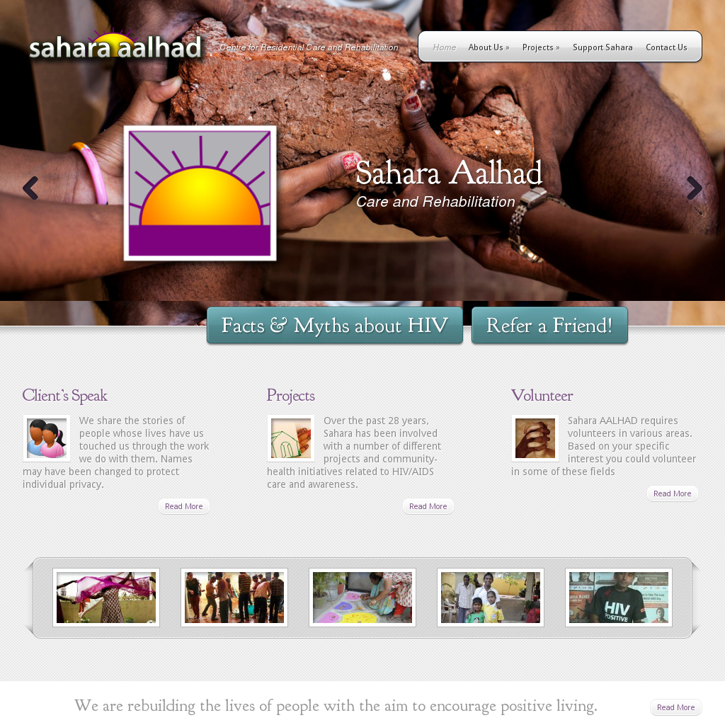 Sahara Aalhad: HIV Care & Rehabilitation